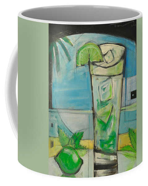 Mojito Coffee Mug featuring the painting Mojito2 by Tim Nyberg