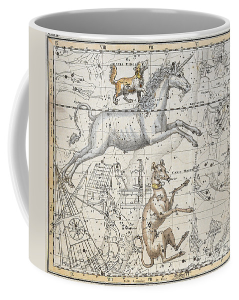 Monoceros Coffee Mug featuring the painting Monoceros by A Jamieson