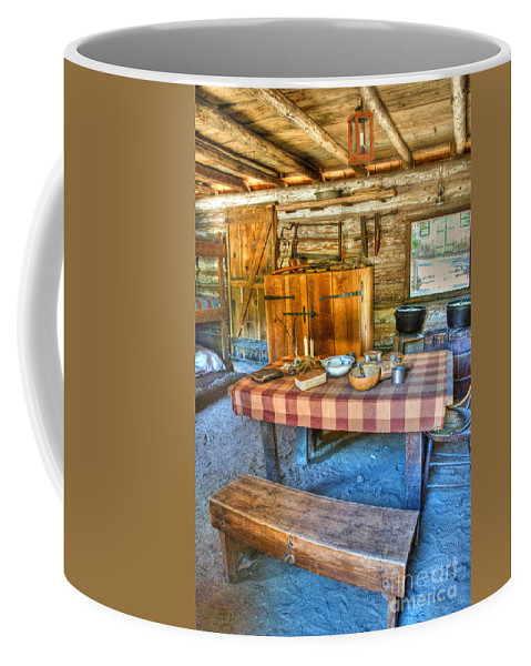 Mormons Coffee Mug featuring the photograph Mormons Cabin by Diego Re