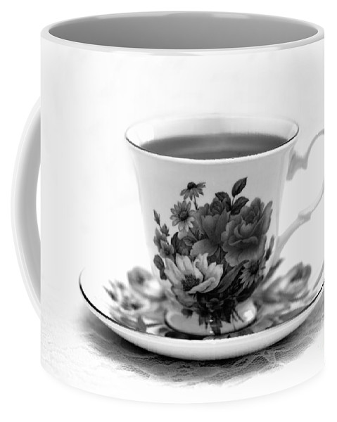 Cup Of Coffee Coffee Mug featuring the photograph Morning Coffee by Betty LaRue