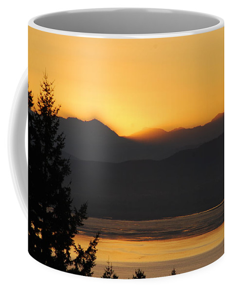 Morning Coffee Mug featuring the photograph Morning Has Broken by Michael Merry