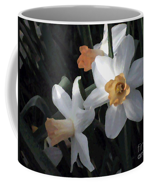 Jonquils Coffee Mug featuring the photograph Morning Jonquils by Sherry Oliver