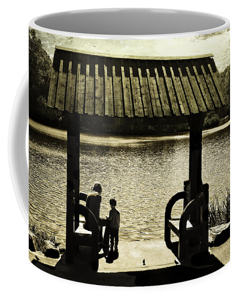 Mother Coffee Mug featuring the photograph Mother And Child - Special Moment by Madeline Ellis