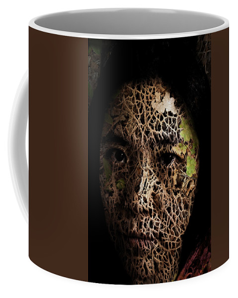 Mother Coffee Mug featuring the painting Mother Earth by Christopher Gaston