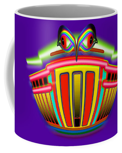 Bank Coffee Mug featuring the painting Mother Lode by Charles Stuart