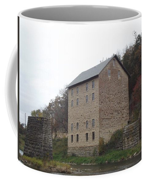 Mill Coffee Mug featuring the photograph Motor Mill by Bonfire Photography
