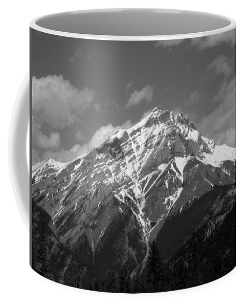 Mountain Coffee Mug featuring the photograph Mountain Cascade by Leanne Karlstrom
