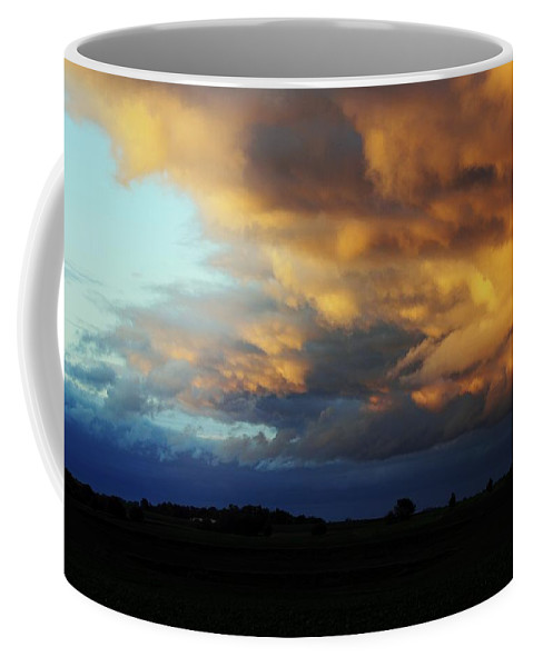 Landscape Coffee Mug featuring the photograph Moving Out by Bryan Noll