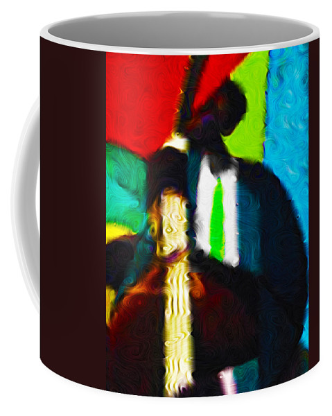 Bass Coffee Mug featuring the photograph Mr. Bassman by Terry Fiala