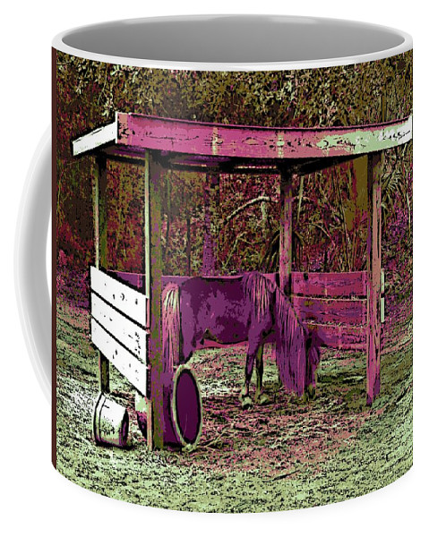 Mr. Nibbles Coffee Mug featuring the photograph Mr. Nibble's New Home by George Pedro