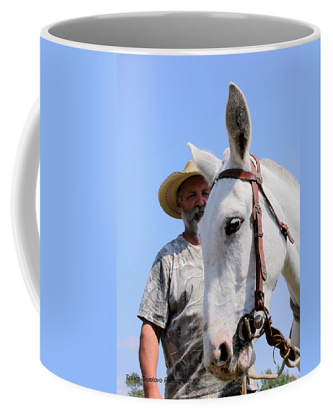 Horses And Mules Coffee Mug featuring the photograph Mules At Benson Mule Day by Travis Truelove