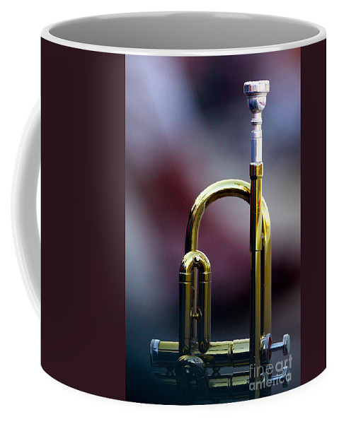 Art Coffee Mug featuring the photograph Music At Rest by Alan Look