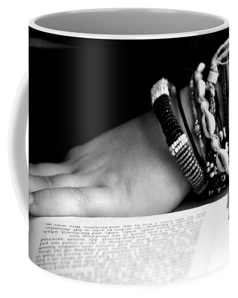 Book Coffee Mug featuring the photograph My Book by Marysue Ryan