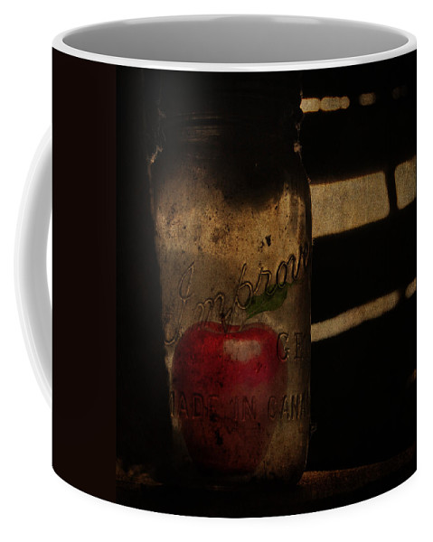 Jerry Cordeiro Photographs Photographs Coffee Mug featuring the photograph My Hidden Apple by The Artist Project