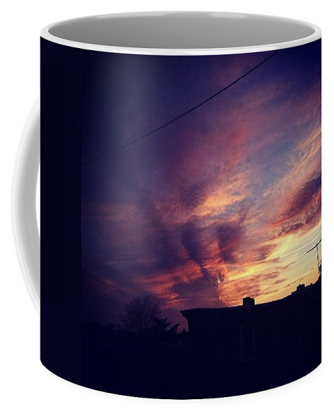 Sky Coffee Mug featuring the photograph My Sky by Katie Cupcakes