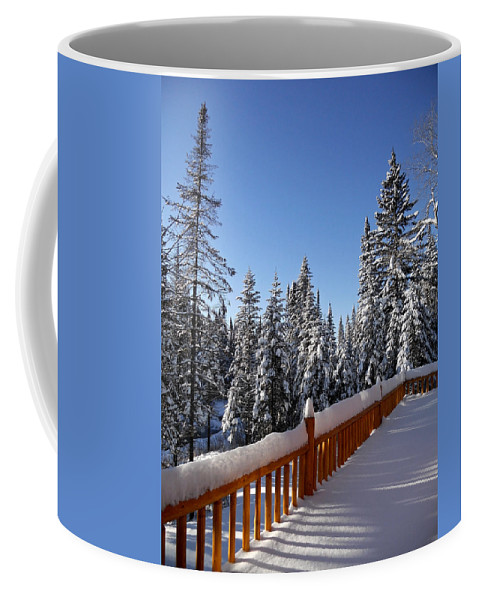 North America Coffee Mug featuring the photograph My Sunday - Morning ... by Juergen Weiss