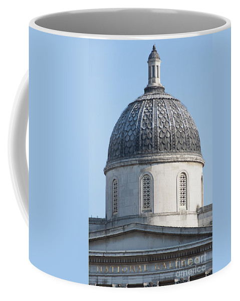 2011 Coffee Mug featuring the photograph National Gallery Cupola by Andrew Michael