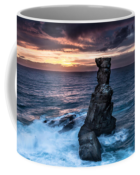 Rock Coffee Mug featuring the photograph Nau Dos Corvos by Edgar Laureano