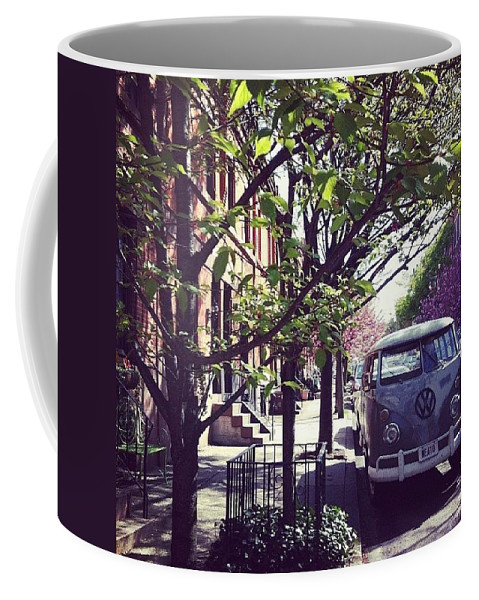 Van Coffee Mug featuring the photograph Neato by Katie Cupcakes