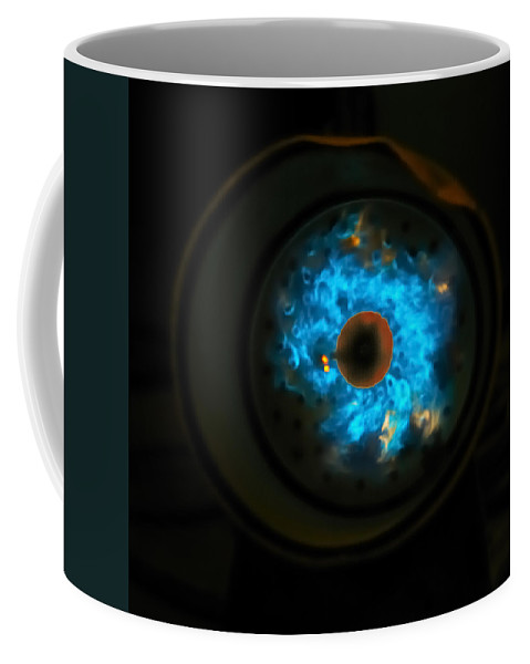 Abstract Coffee Mug featuring the photograph Nebula by Susan Capuano