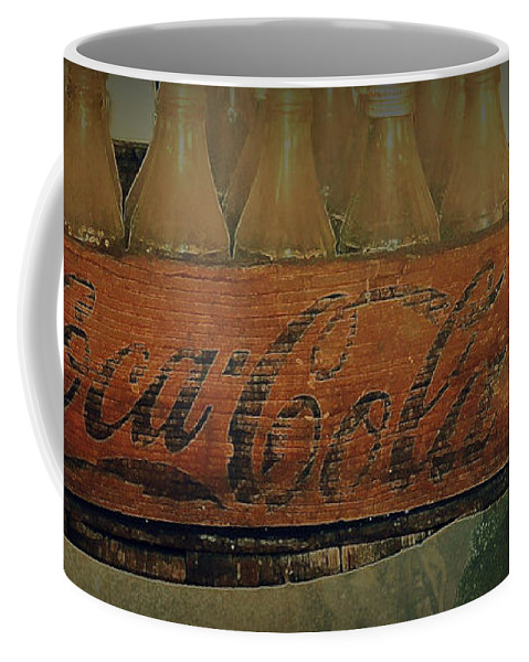 Antique Coca Cola Coffee Mug featuring the photograph Necture by Diane montana Jansson