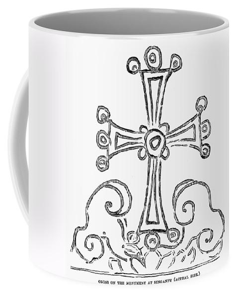 781 Coffee Mug featuring the photograph Nestorian Cross, 781 A.d by Granger