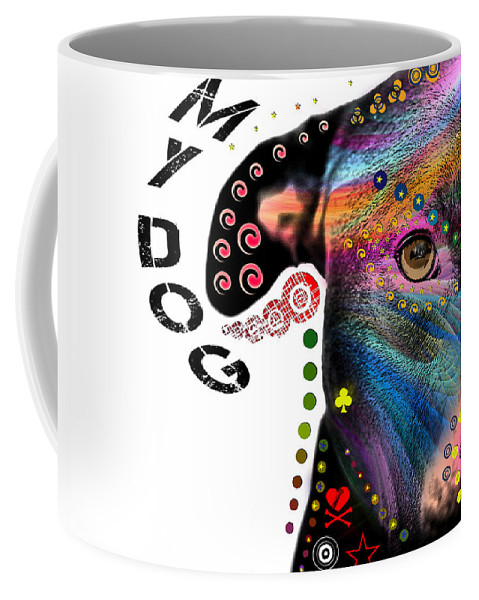 Pop Art Coffee Mug featuring the photograph New Guy In The Blok by Mark Ashkenazi