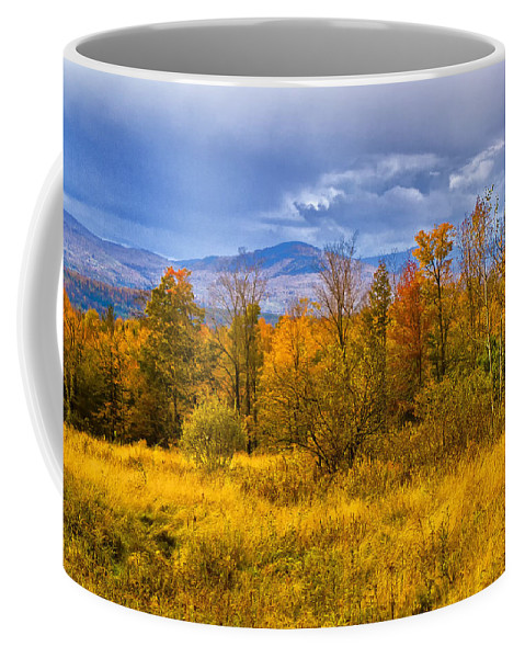 Fall Coffee Mug featuring the photograph New Hampshire Fall Color Part Deux by Bill Barber