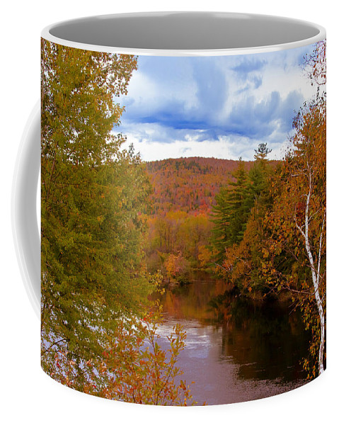 Fall Coffee Mug featuring the photograph New Hampshire Fall Color Part Three by Bill Barber