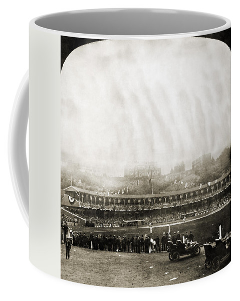 1906 Coffee Mug featuring the photograph New York: Polo Grounds by Granger