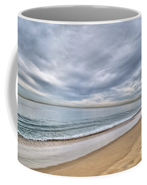 Beach Coffee Mug featuring the photograph Newport Beach Landscape by Diego Re