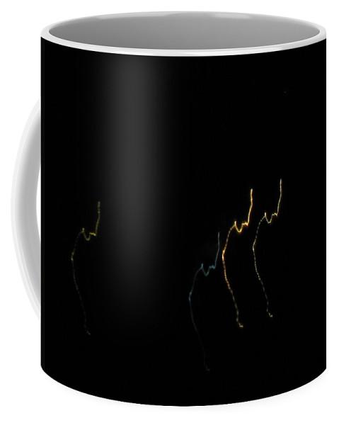 Night Coffee Mug featuring the photograph Night Guest Silhouettes by Sviatoslav Alexakhin