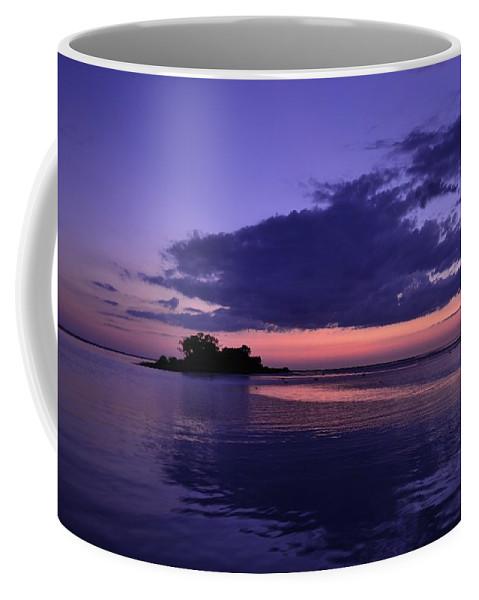 Coffee Mug featuring the photograph Nightfall by Kari Tedrick
