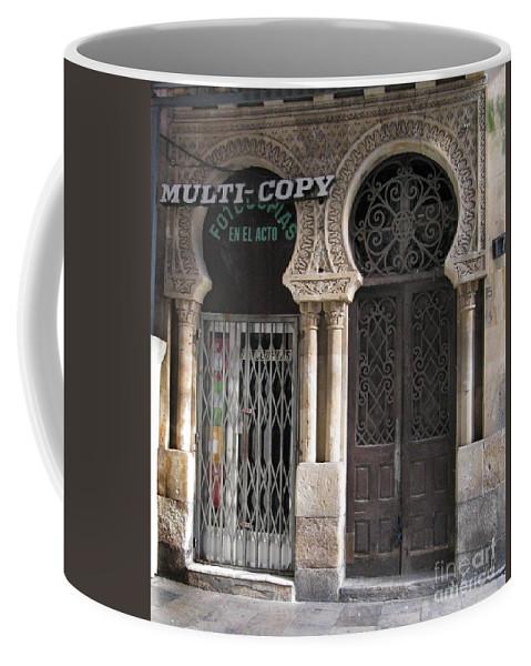 Spain Coffee Mug featuring the photograph No Copy by Arlene Carmel