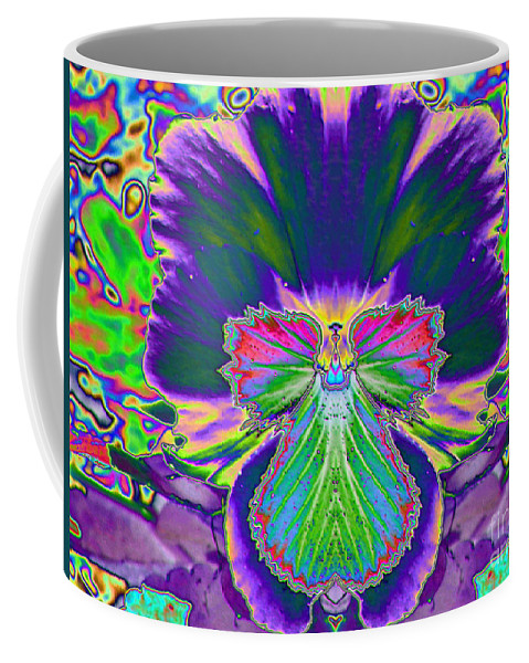 Star Photographs Coffee Mug featuring the photograph No Pansy Here by Art Dingo