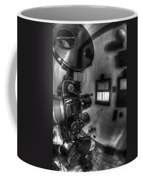 Antique Coffee Mug featuring the photograph Now Playing by Nathan Wright