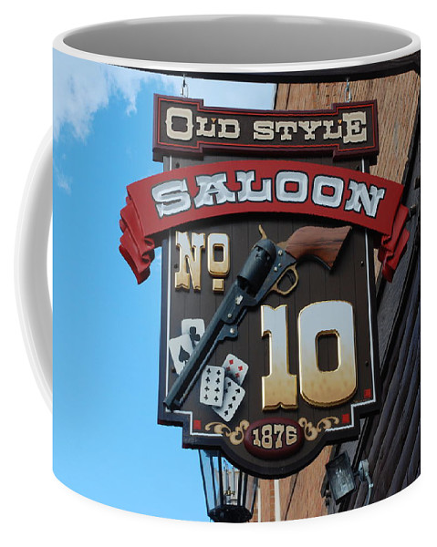 Saloon Coffee Mug featuring the photograph Number 10 Saloon by Dany Lison