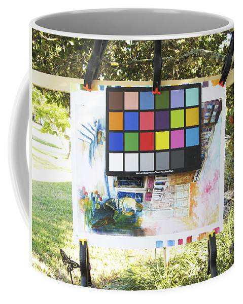Coffee Mug featuring the photograph Number 9 by Rich Franco