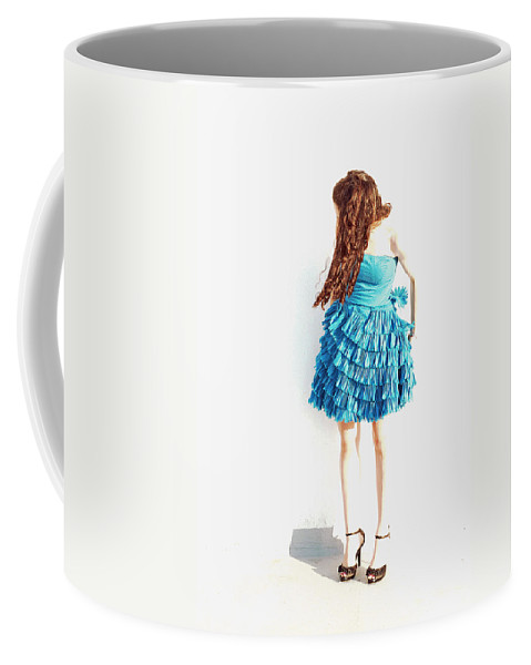 Portraits Coffee Mug featuring the photograph Obscured by Lisa Phillips