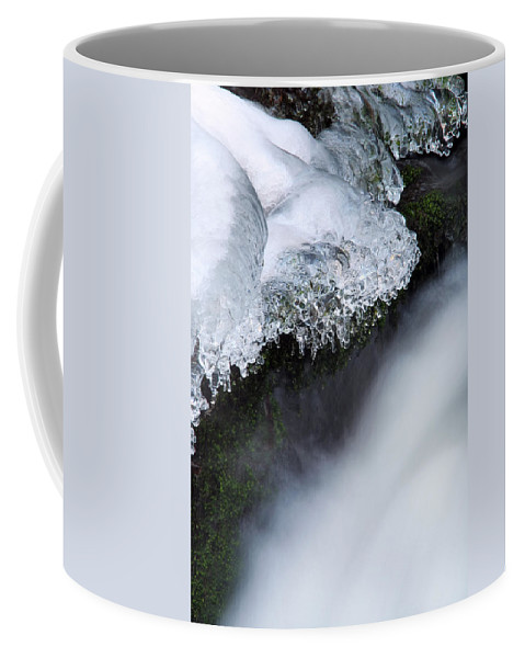 Beautiful Coffee Mug featuring the photograph Of Ice And Water by Darren Fisher