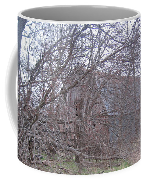 Coffee Mug featuring the photograph Old Barn by Amy Hosp