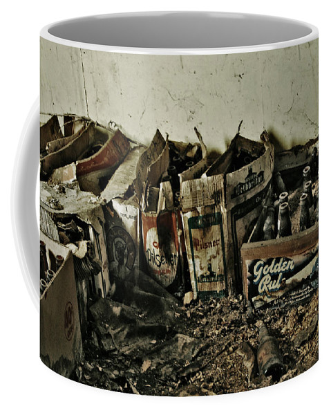 Photography Coffee Mug featuring the photograph Old Beerz by The Artist Project
