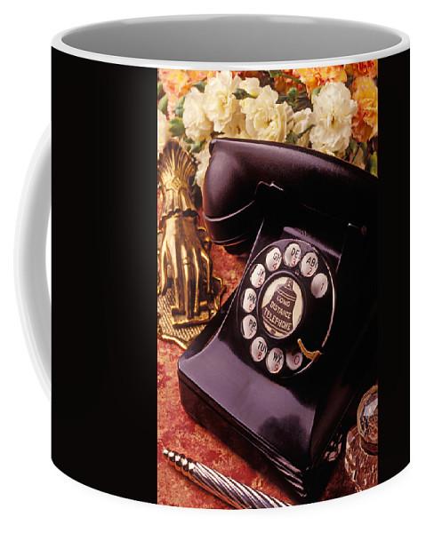 Old Bell Telephone Phone Coffee Mug featuring the photograph Old Bell Telephone by Garry Gay