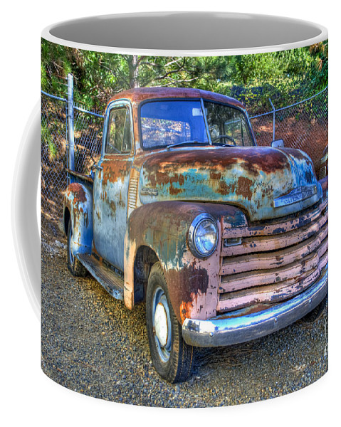 Old Chevy Coffee Mug featuring the photograph Old Chevy by Diego Re