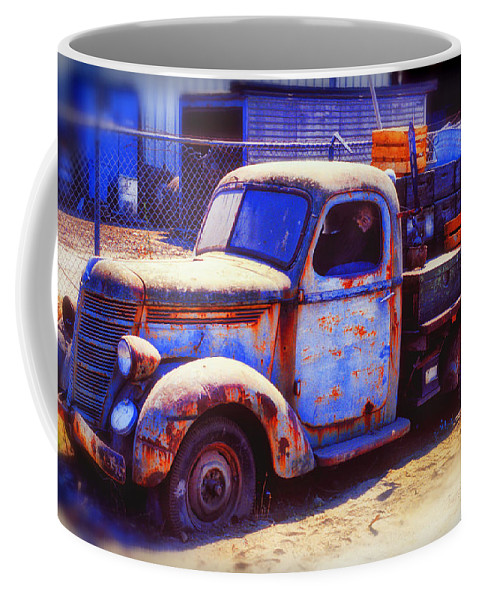 Truck Coffee Mug featuring the photograph Old Junk Truck by Garry Gay