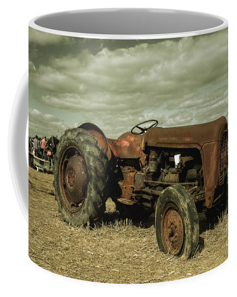 Massey Coffee Mug featuring the photograph Old Massey by Rob Hawkins
