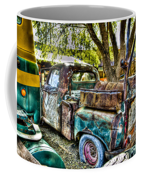 Old Truck Coffee Mug featuring the photograph Old Pickup by Jon Berghoff