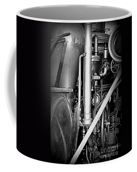 Steam Coffee Mug featuring the photograph Old Steam by Kevin Fortier