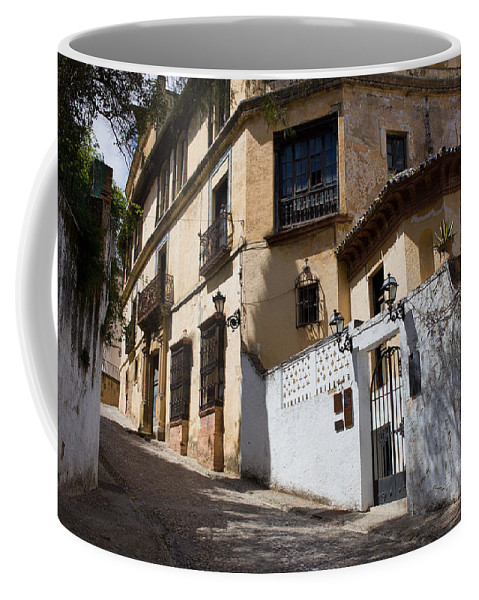 Ronda Coffee Mug featuring the photograph Old Town In Ronda by Artur Bogacki