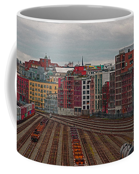 Vancouver Coffee Mug featuring the photograph Old Town Vancouver by Randy Harris